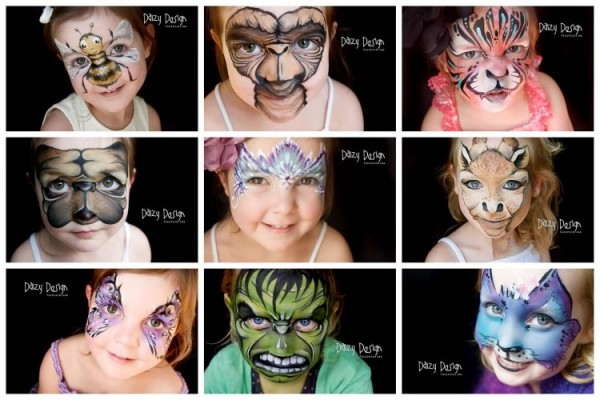 Daizy Design Face Paintings