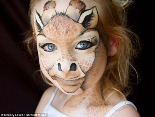 Amazing Face Paintings by Daizy Design
