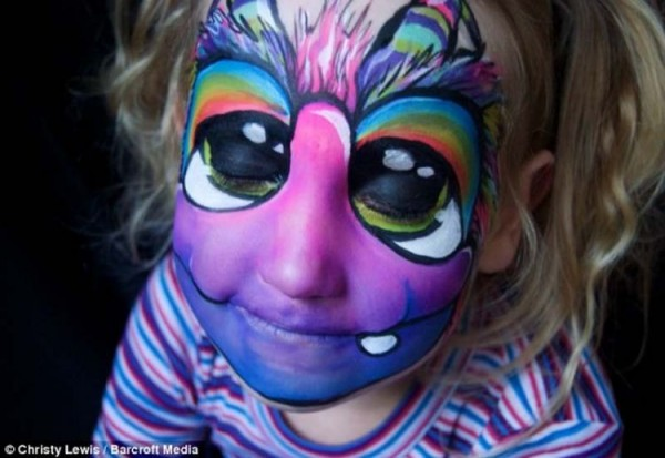 Amazing Face Instead of CanvasFace Paintings by Daizy Design