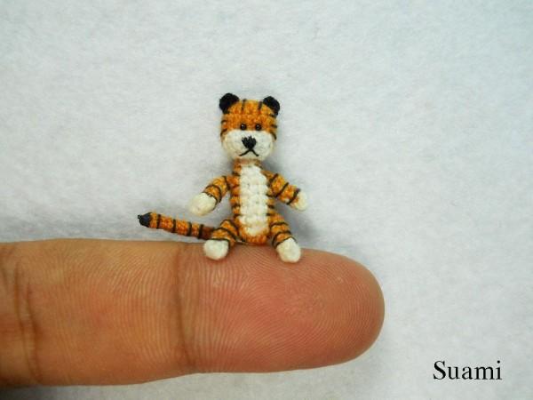 Cute Miniature Crocheted Animals by Su Ami