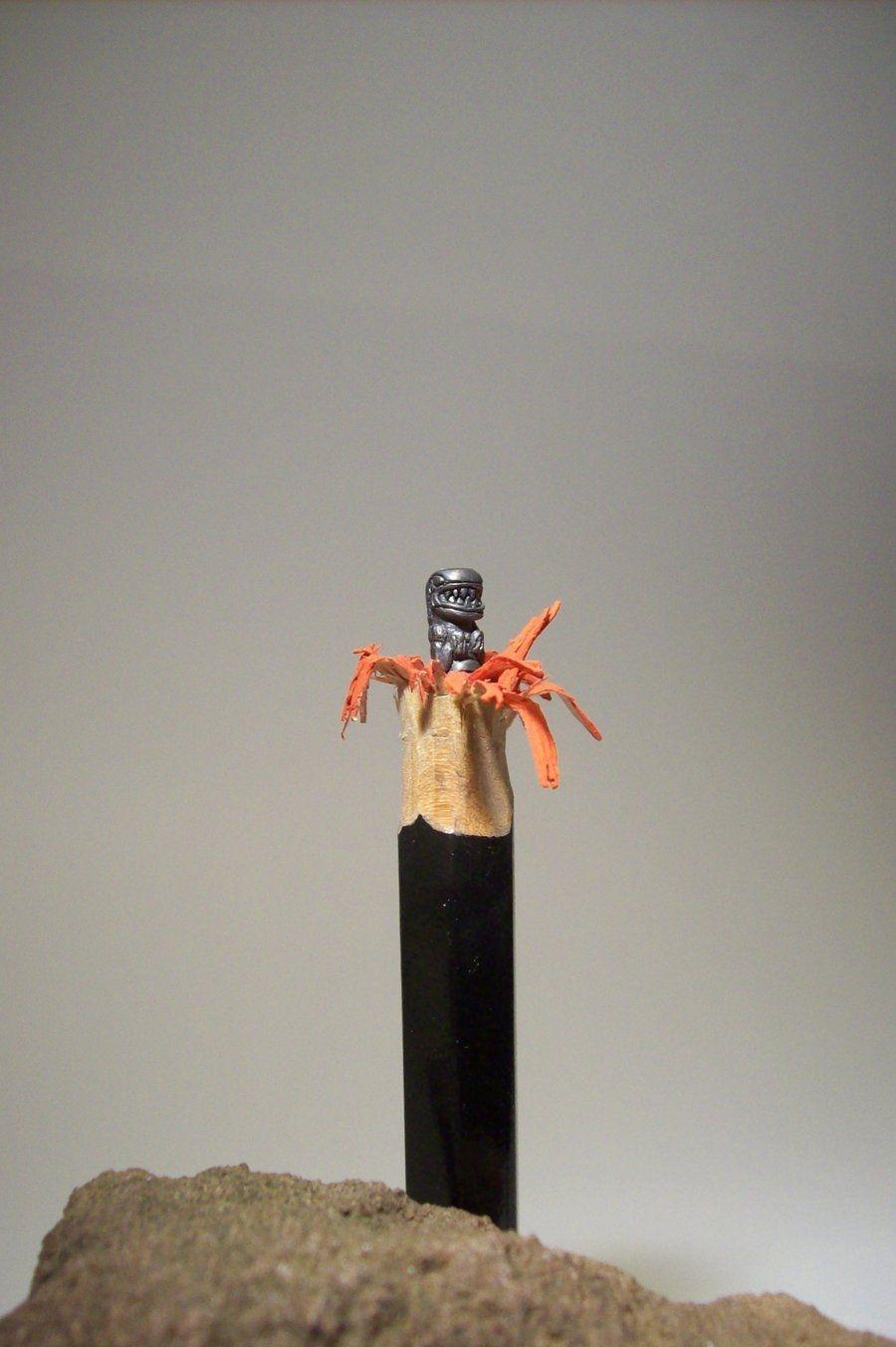 Pencil Sculptures by Cerkahegyzo