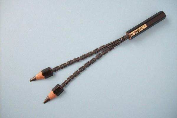 Pencil-graphite sculpture Cerkahegyzo