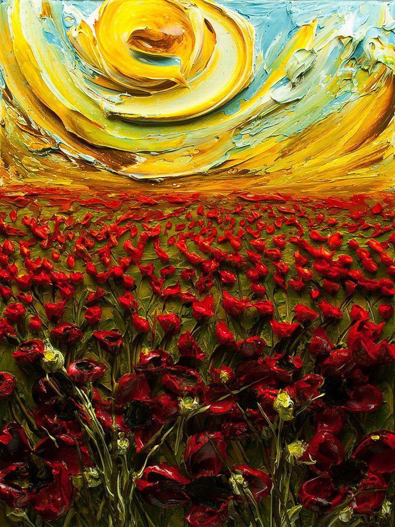 Volumetric Paintings from Justin Gaffrey