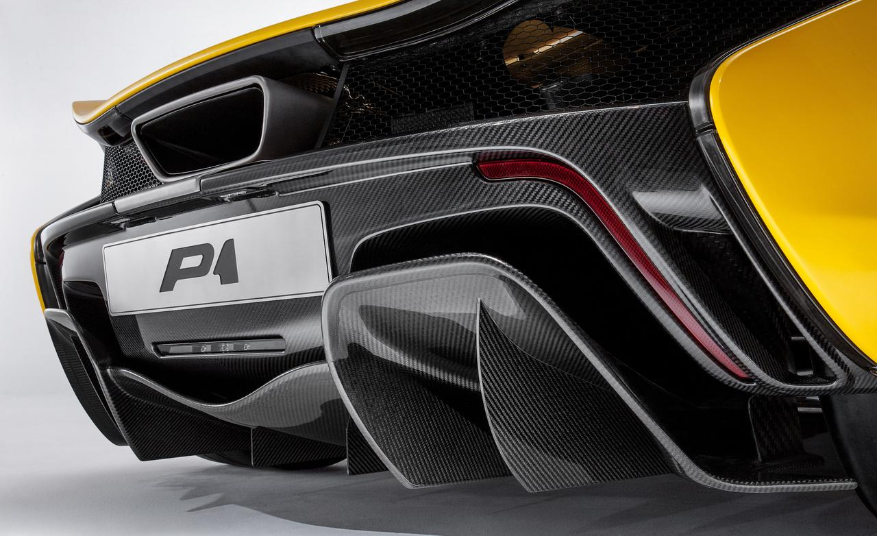 supercar McLaren P1