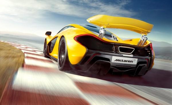 Supercar McLaren P1 Wallpapers