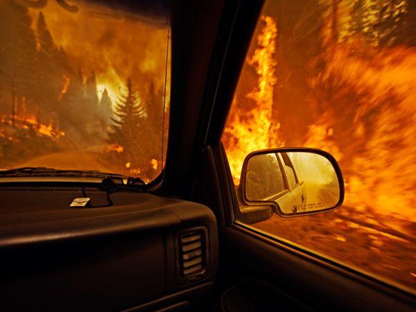 Wildfire, Montana