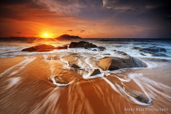 Wonderful Seascapes by Bobby Bong
