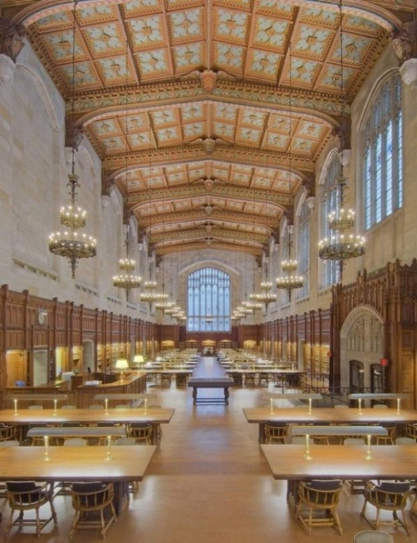 Law Library of the University of Michigan, Ann Arbor, USA