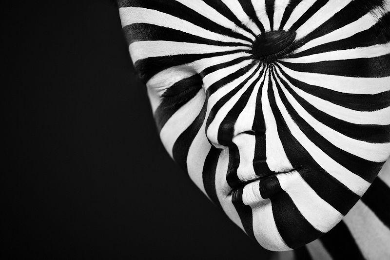 Black and White Faces by Alexander Khokhlov