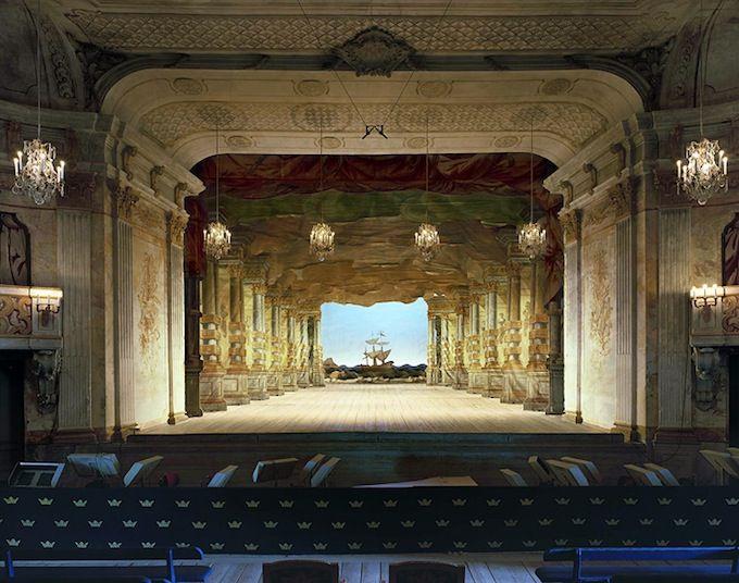 Drottningholm Palace Theatre, Stockholm, Sweden