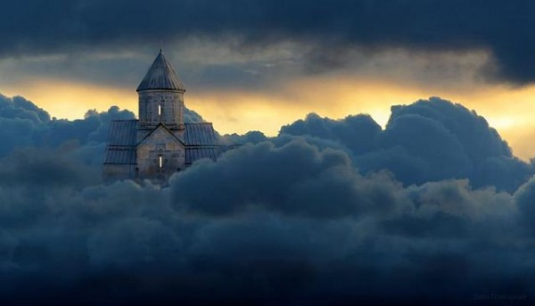Haghpad Monastery in the Clouds