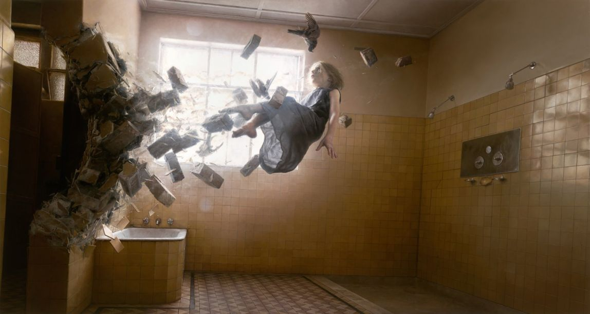Hyper-Realistic Surrealism in Paintings by Jeremy Geddes