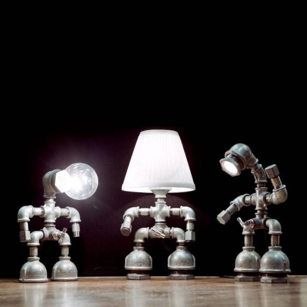 Kozo Lamp - Upcycled Handmade Lighting Design by David Benatan