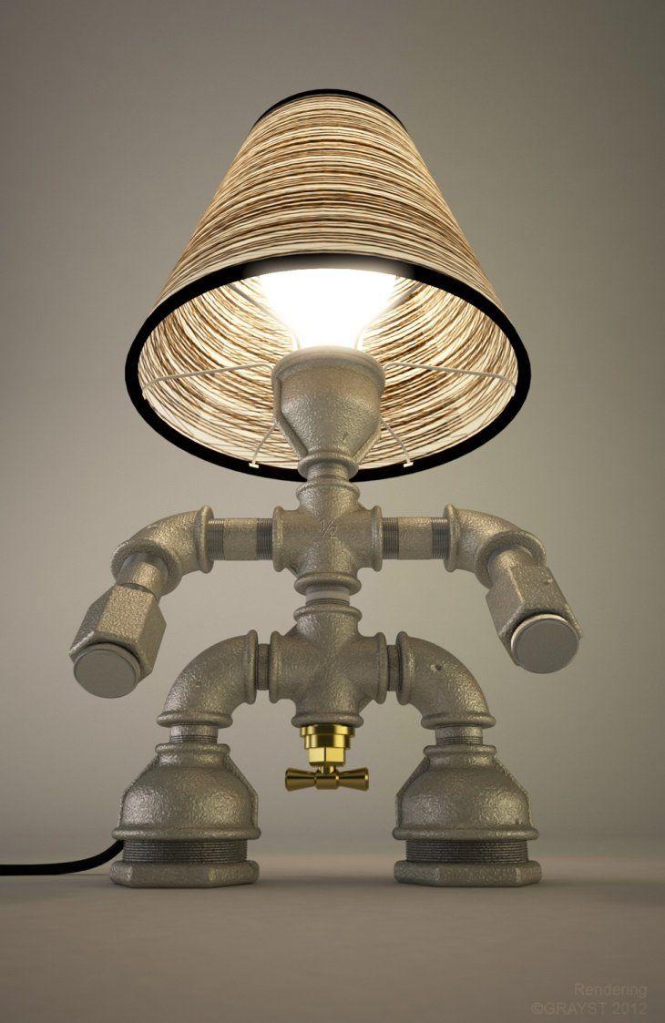 Kozo lamp upcycled handmade lighting designs by david - Lamparas de techo hechas en casa ...