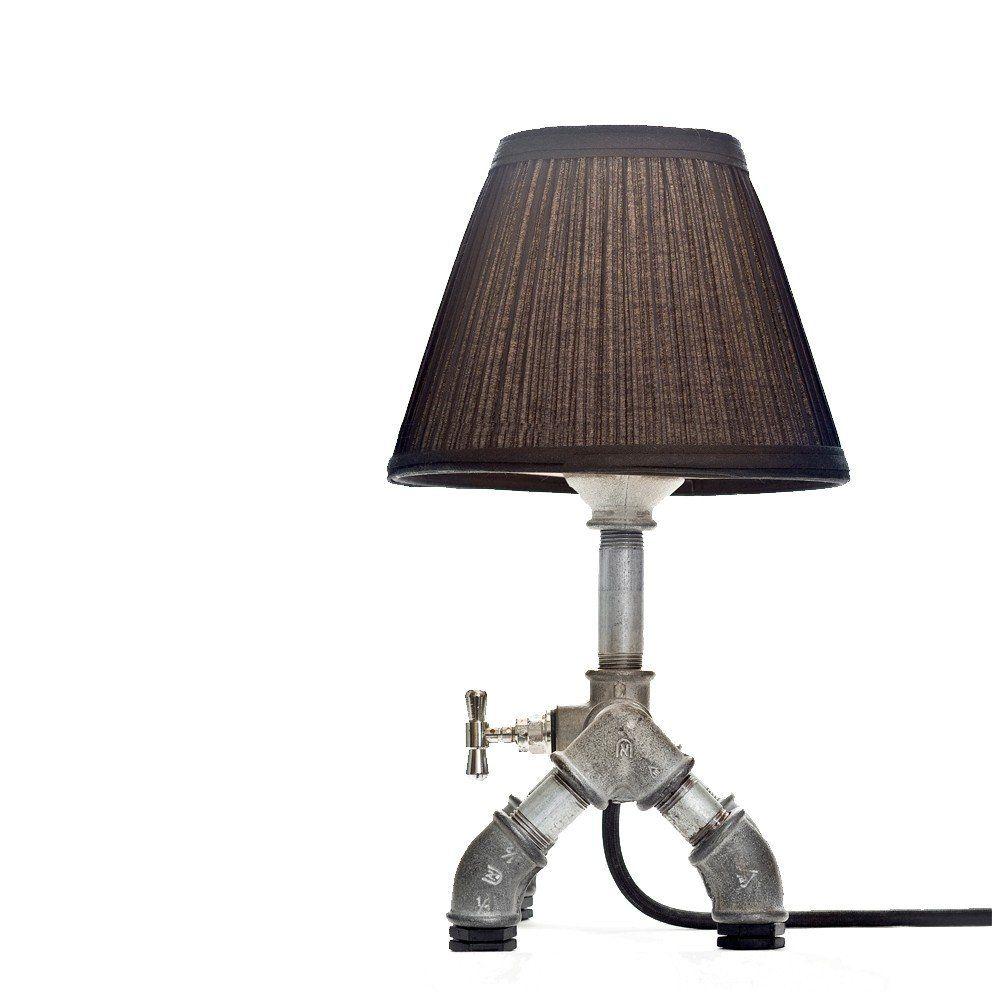 Kozo lamp upcycled handmade lighting designs by david benatan the wondrous - Hand made lamps ...