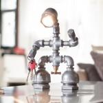 Kozo Lamp – Upcycled Handmade Lighting Designs by David Benatan