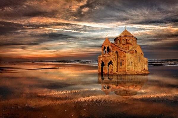 LOST Saint Hripsime Church illusion