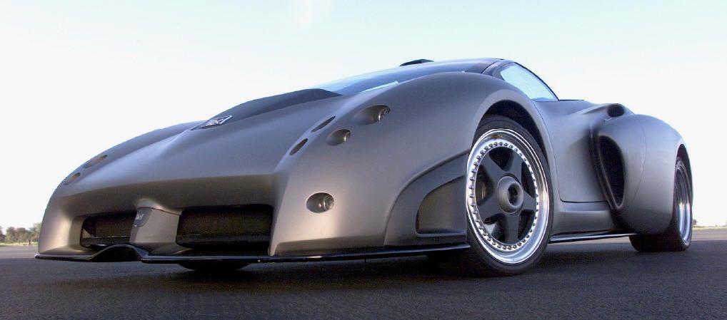 Lamborghini Pregunta Side Front view