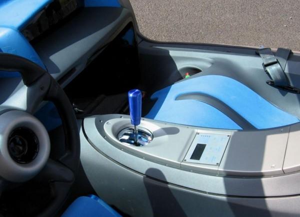 Lamborghini Pregunta Seat and meter