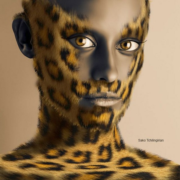 Man in Leopard Skin
