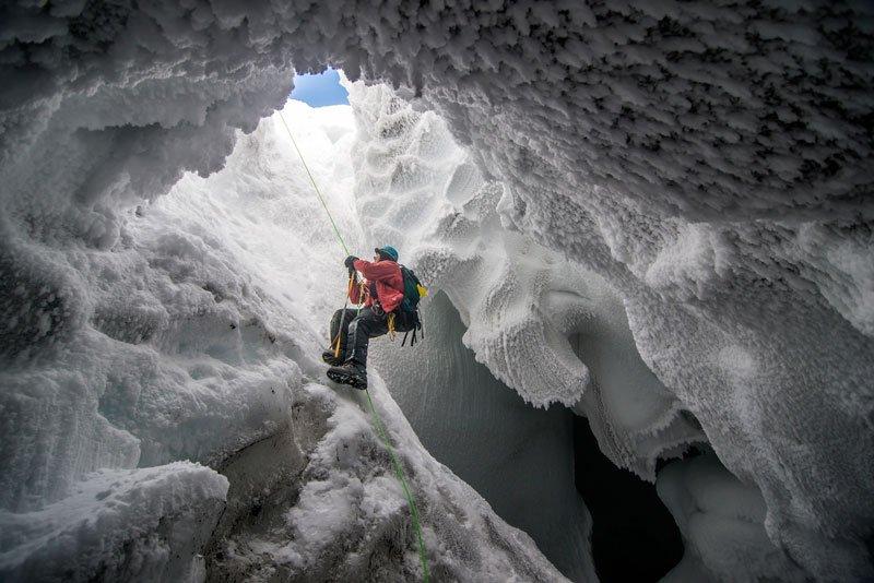 Mount Erebus. Ice Cave