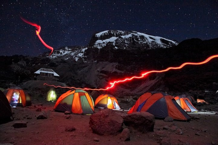 Night Camp Kilamandzharo