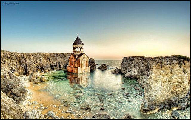 Noravank ( Armenia) fantasy; illusion; imagination