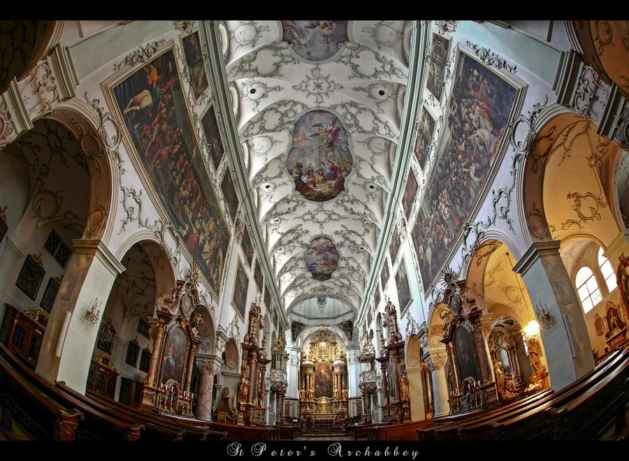 St Peter's Archabbey by erhan sasmaz