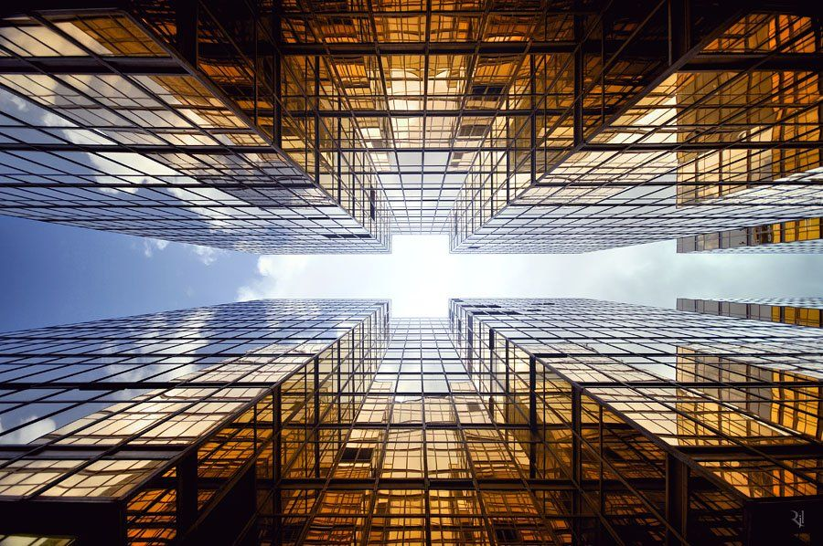 "Inspirational ""Vertical Horizons"" of Hong Kong by Romain Jacquet-Lagreze"