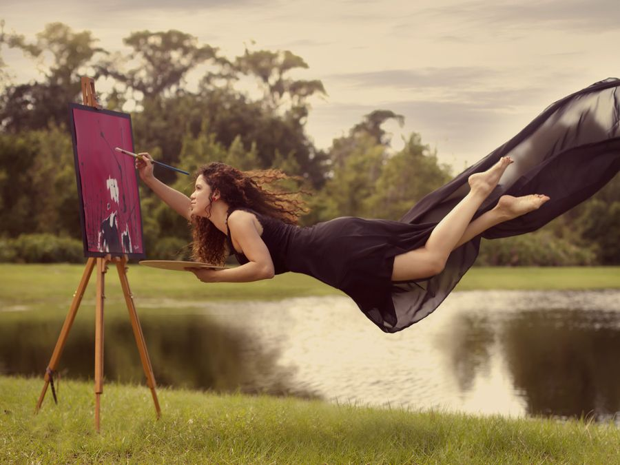 1. The Weightlessness of an Artist's Soul