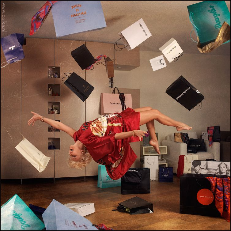 14. Shopaholic In-Flight