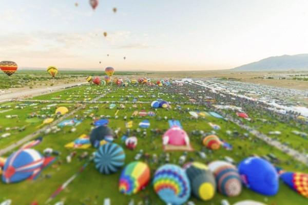 Hot Air Balloon Festival, New Mexico