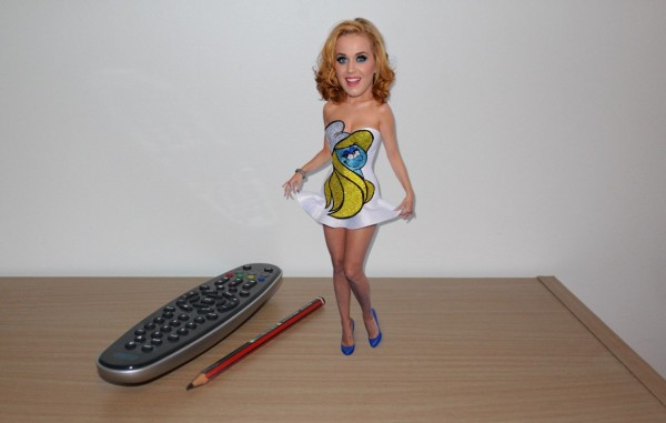 And the larger, non-animated version- Katy Perry Bobblehead