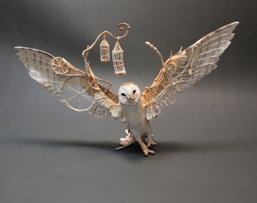 Barn Owl with Mechanics