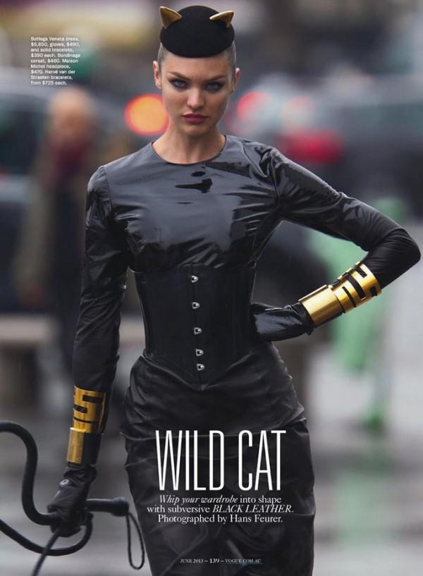 Candice Swanepoel for Vogue Australia June 2013