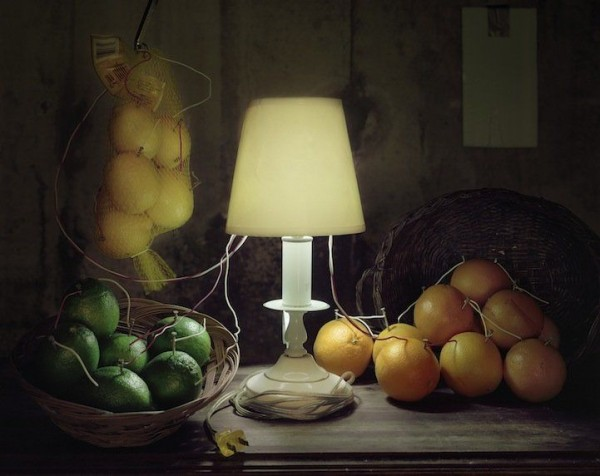 Fruit Battery Still Life (Citrus) 2012