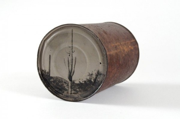 Tintype Photos Using Rusty Old Cans