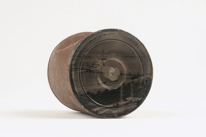 Wet-Plate Collodion Technique Applied to Old Tin Cans