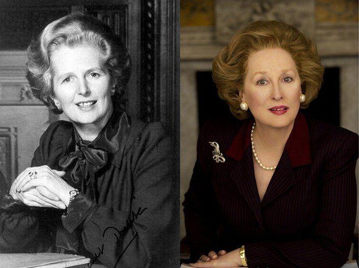 Meryl Streep (Margaret Thatcher, The Iron Lady)