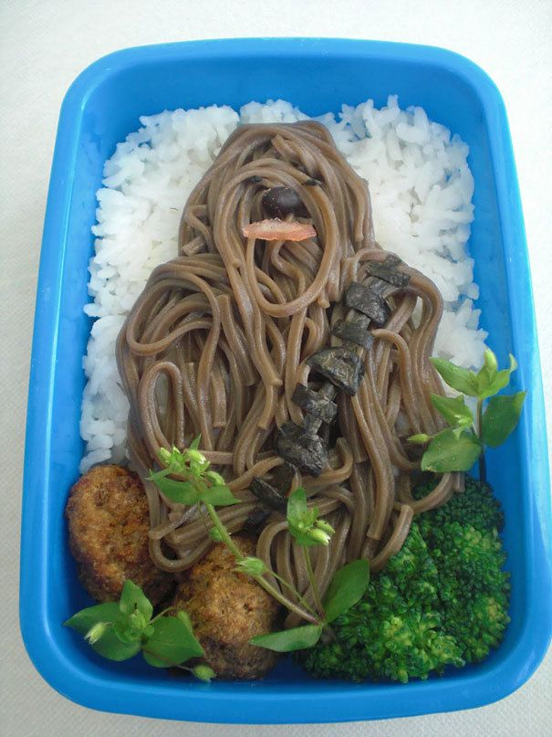 Noodles Chewbacca