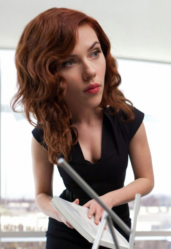 Photoshopped Celebrity Bobblehead- Scarlett Johansson