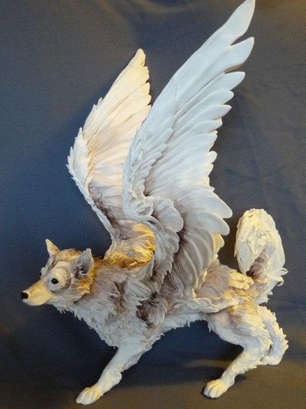 Sable Winged Canine