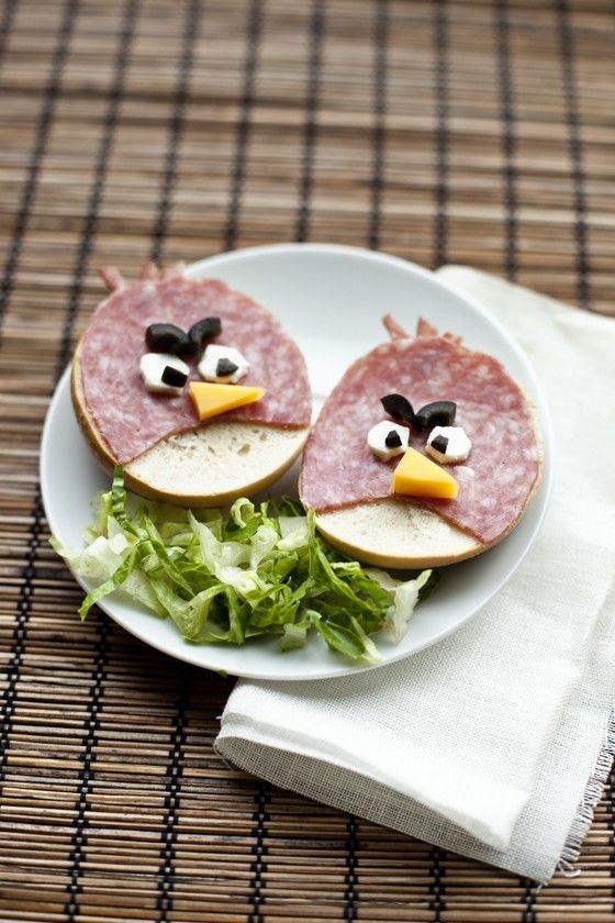Sandwiches Angry Birds