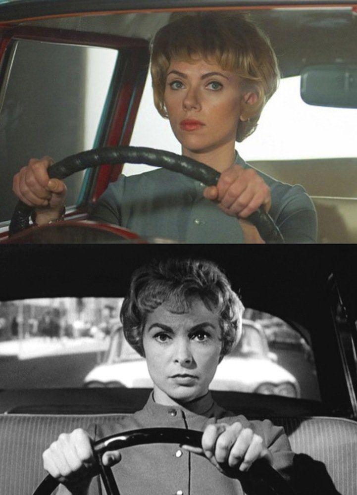 Scarlett Johansson (Janet Leigh, Hitchcock)