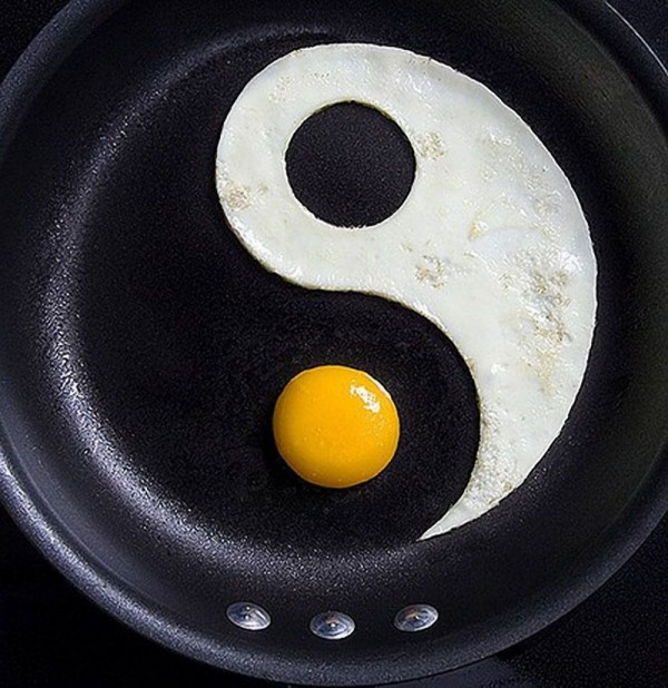 egg yin-yang