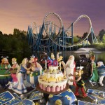 "Amusement Park ""Asterix"" in France"