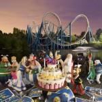 "Amusement Park ""Asterix"" in France"