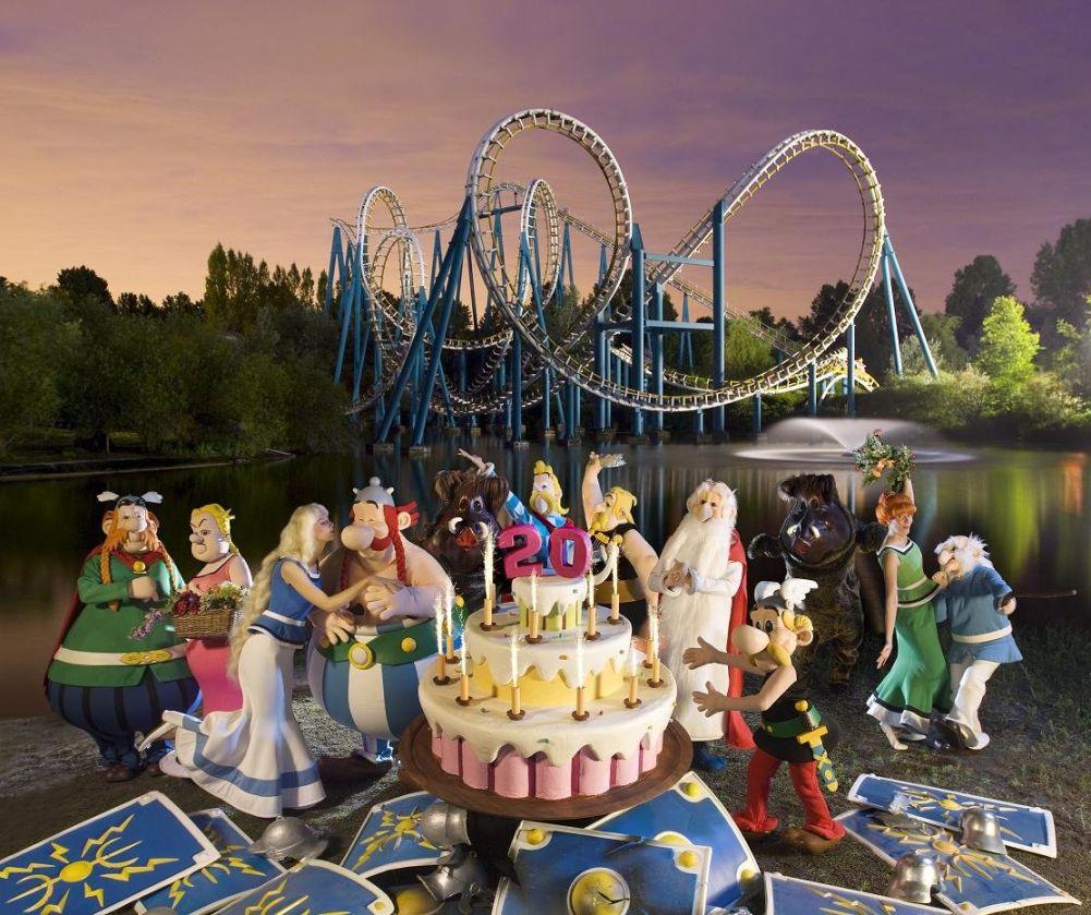 Amusement park asterix in france the wondrous for Amusement parks in paris