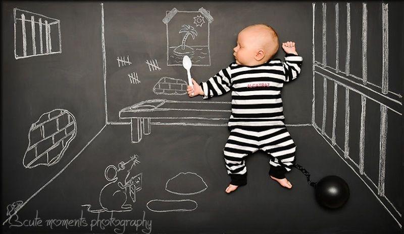 Baby Blackboard Adventures by Anna Eftimie