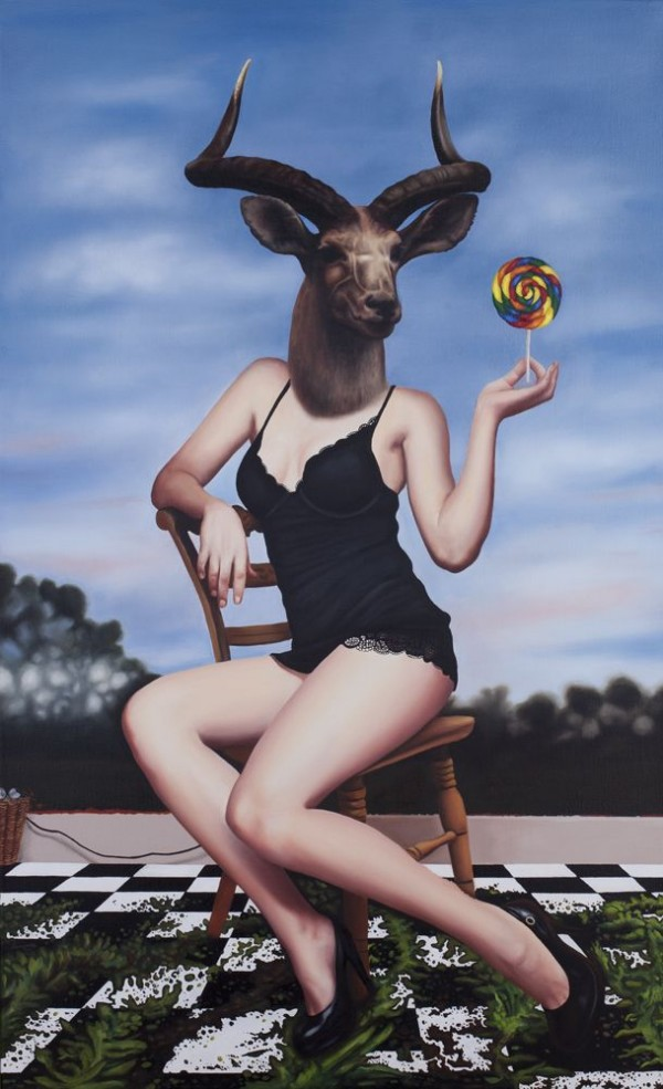 Pin-Up Portraits of Deer Girls